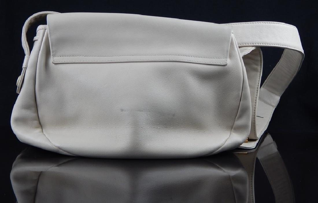 LLADRO TAN LEATHER AND PORCELAIN PURSE - 3
