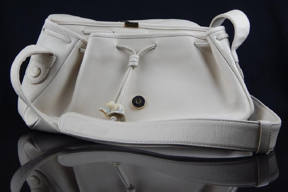 LLADRO TAN LEATHER AND PORCELAIN PURSE - 4