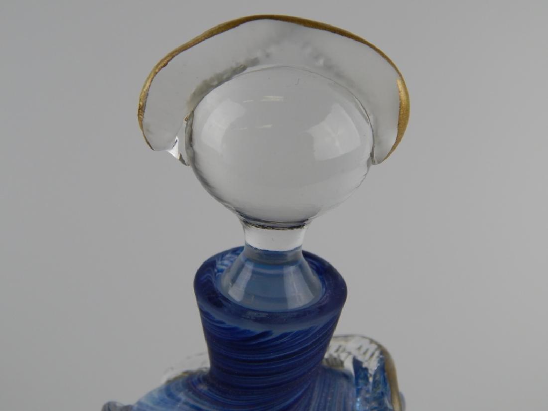 ELAINE ART GLASS FIGRUARL TORSO SCENT BOTTLE - 4