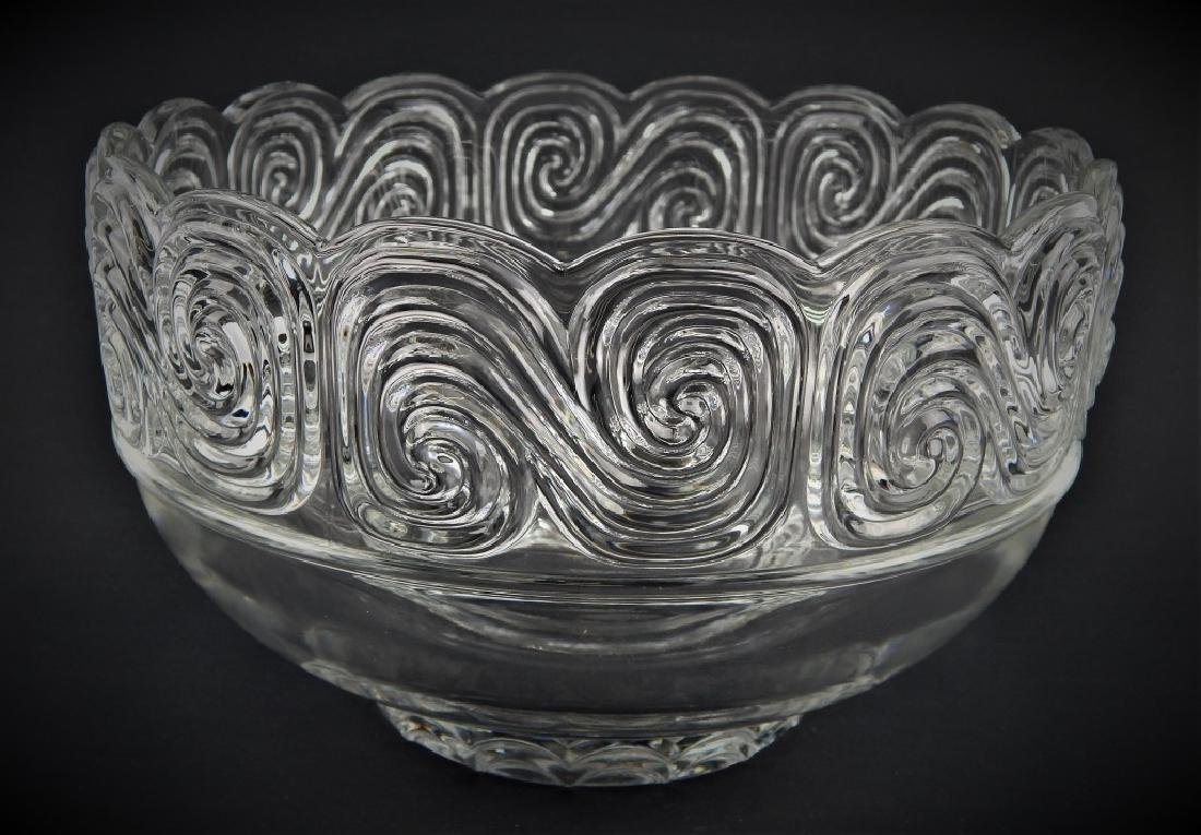 LOUIS COMFORT TIFFANY COLLECTION GLASS WAVE BOWL