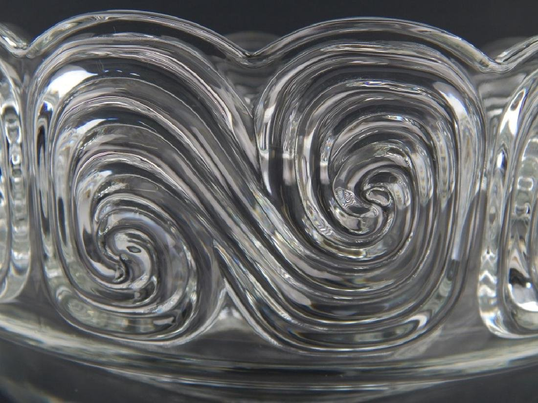 LOUIS COMFORT TIFFANY COLLECTION GLASS WAVE BOWL - 2