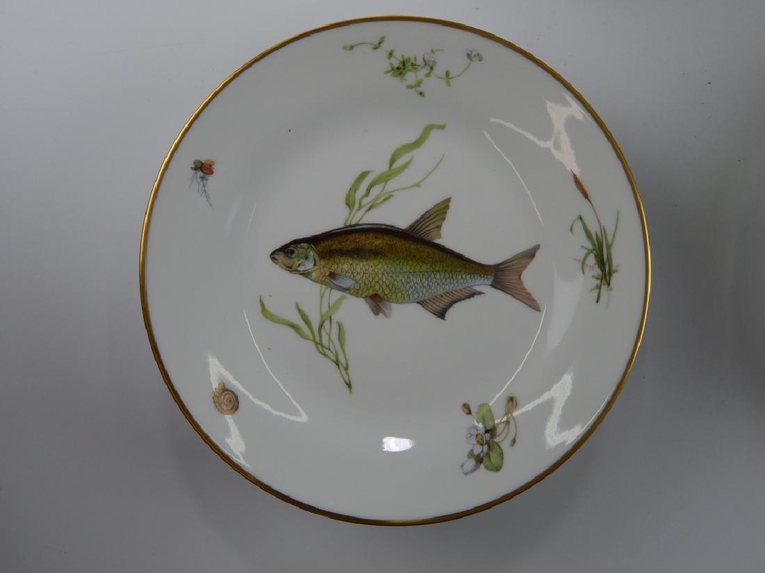 13 RICHARD GINORI QUENELL FISH DINNERWARE PIECES - 3