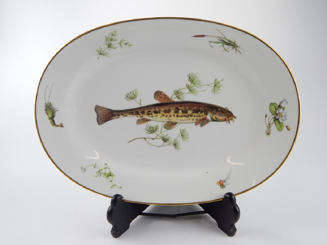 13 RICHARD GINORI QUENELL FISH DINNERWARE PIECES - 6