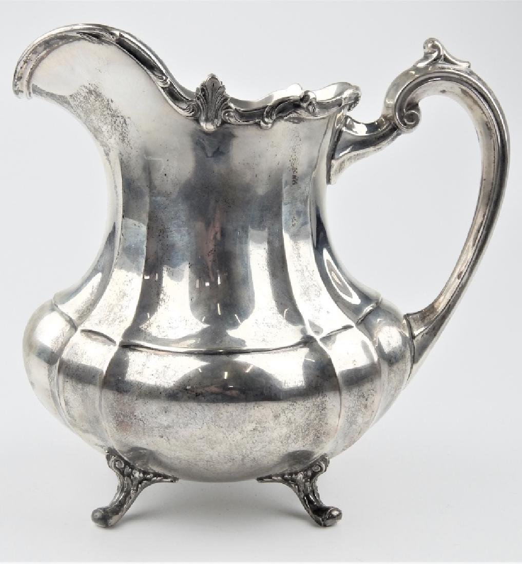 "REED & BARTON HAMPTON COURT STERLING 9"" PITCHER"