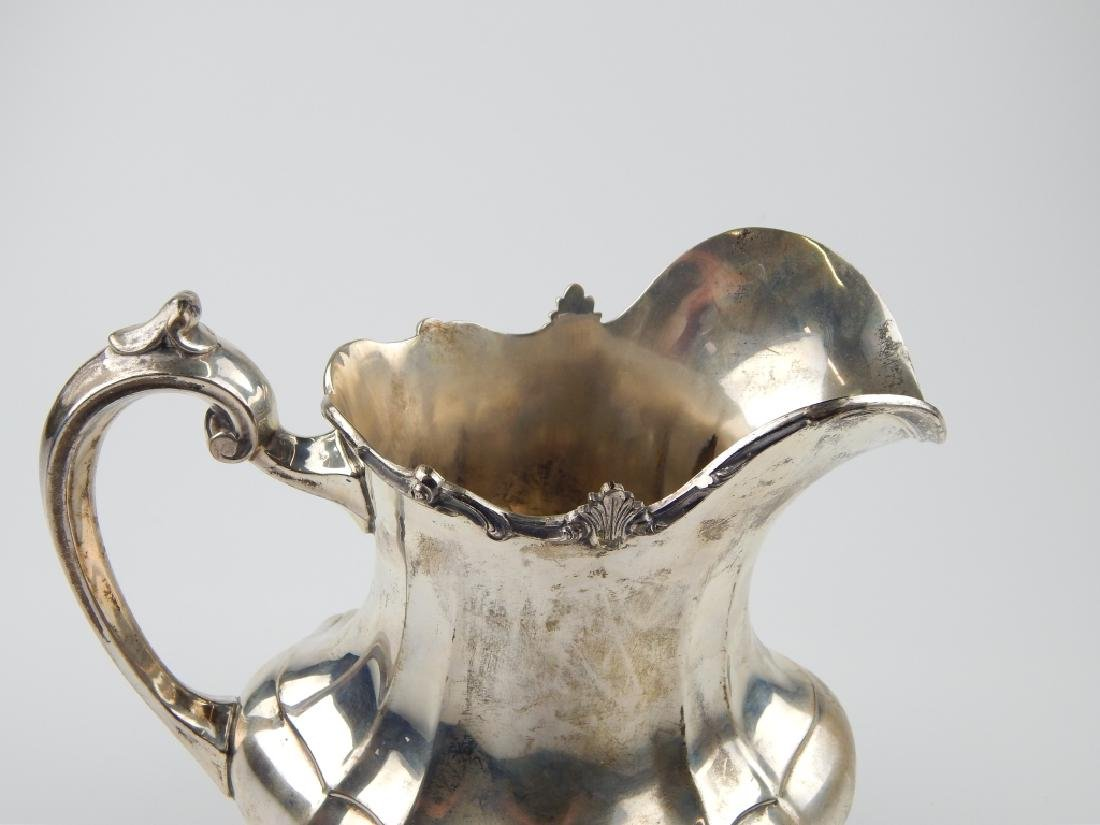 "REED & BARTON HAMPTON COURT STERLING 9"" PITCHER - 3"