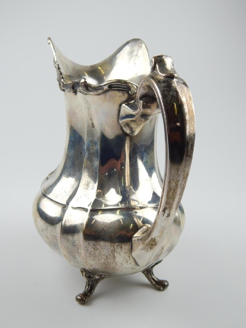 "REED & BARTON HAMPTON COURT STERLING 9"" PITCHER - 5"