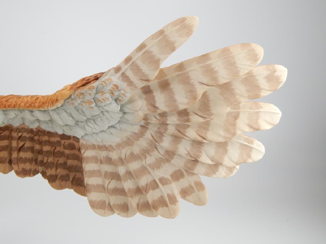 BOEHM PORCELAIN LIMITED EDITION SCREECH OWL FIGURE - 2