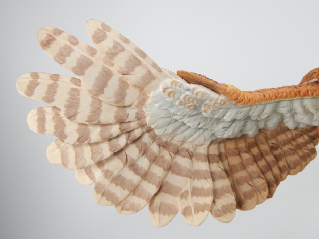 BOEHM PORCELAIN LIMITED EDITION SCREECH OWL FIGURE - 3