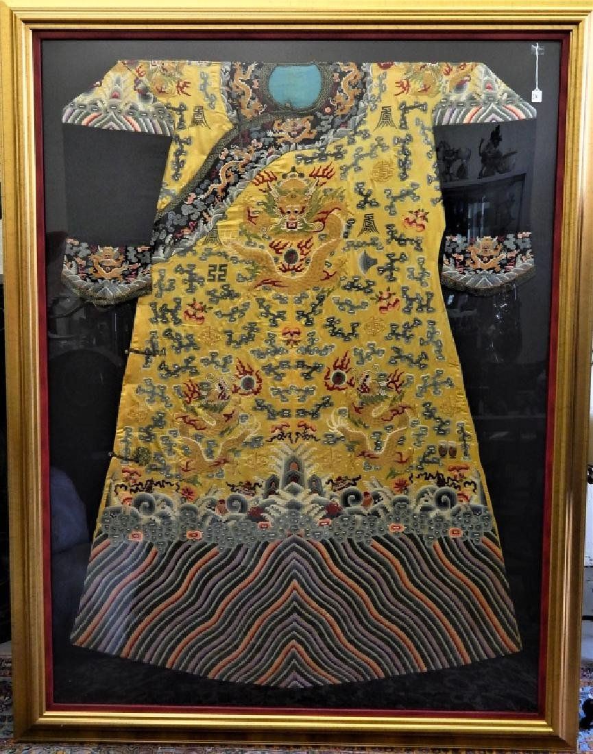 EXQUISITE CHINESE QING KESI IMPERIAL COURT ROBE
