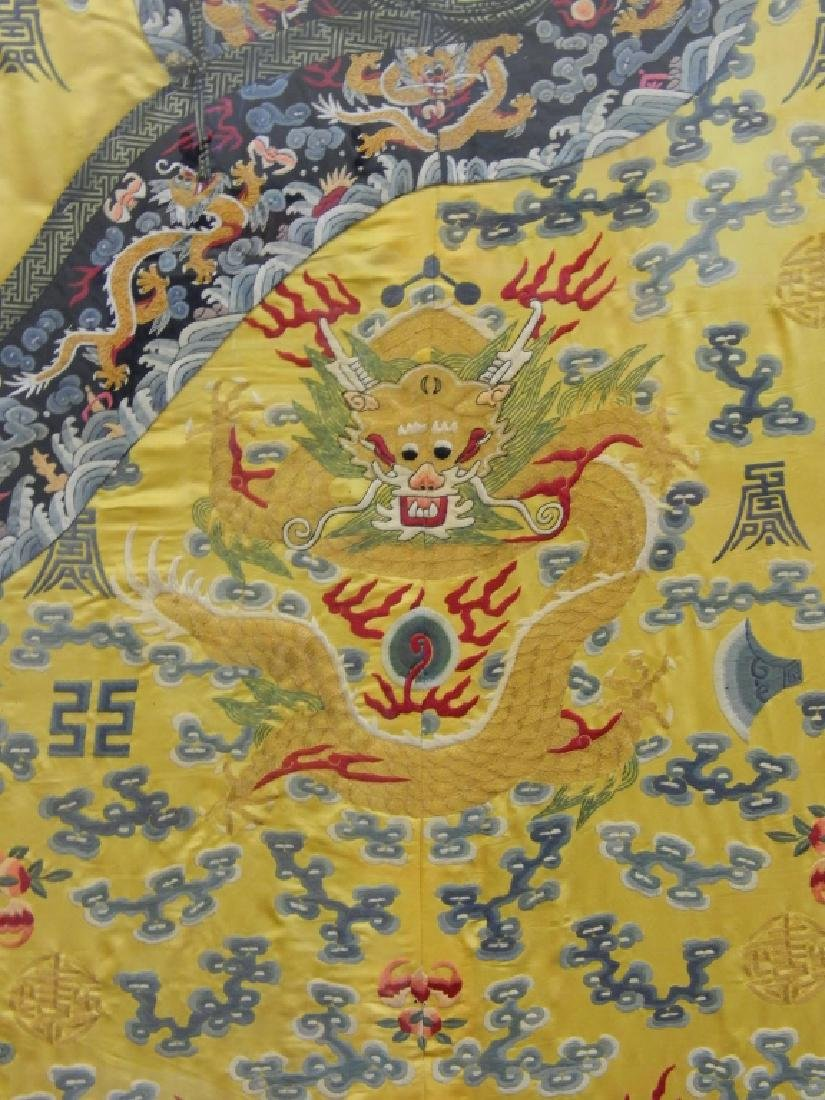 EXQUISITE CHINESE QING KESI IMPERIAL COURT ROBE - 3