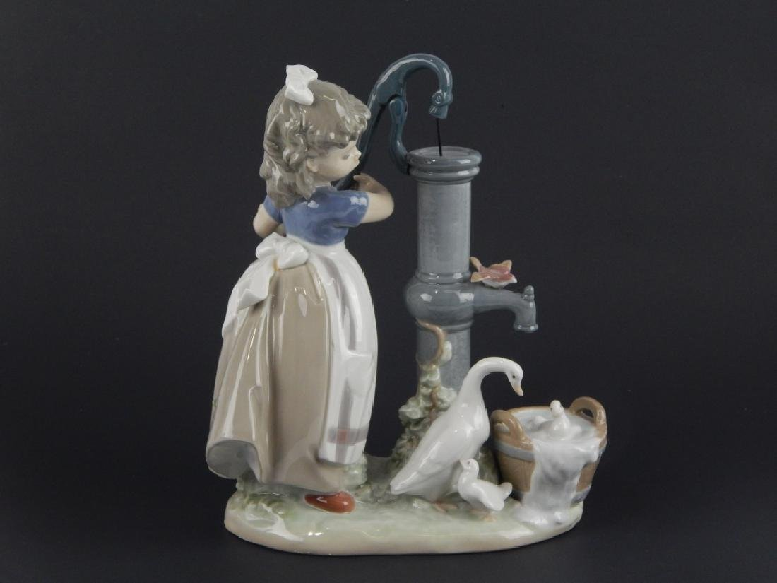"LLADRO #5285 ""ON THE FARM"" FIGURE - 3"