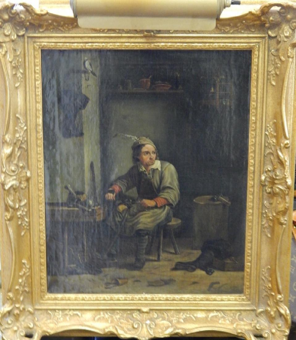 ADRIAAN DE LELIE (DUTCH, 1755-1820) OIL ON CANVAS