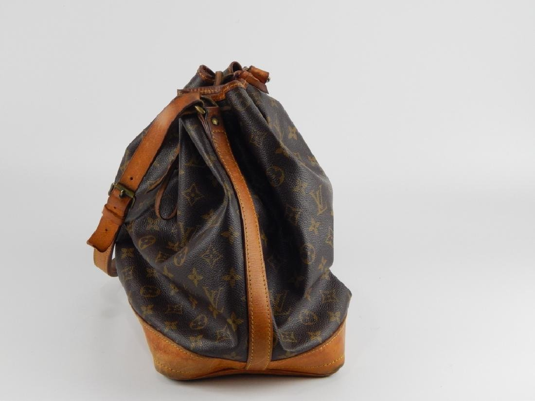 LOUIS VUITTON VINTAGE LEATHER MONOGRAM PURSE - 3