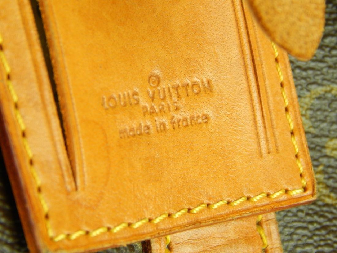 LOUIS VUITTON VINTAGE LEATHER MONOGRAM BAG - 2