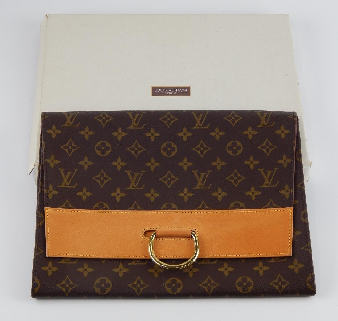 LOUIS VUITTON MONOGRAM LEATHER DOCUMENT HOLDER