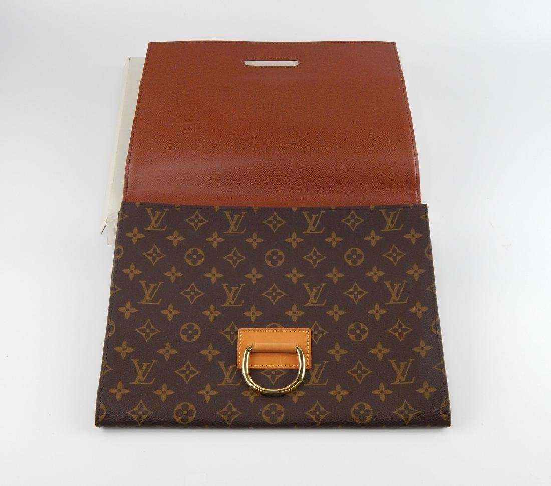 LOUIS VUITTON MONOGRAM LEATHER DOCUMENT HOLDER - 3