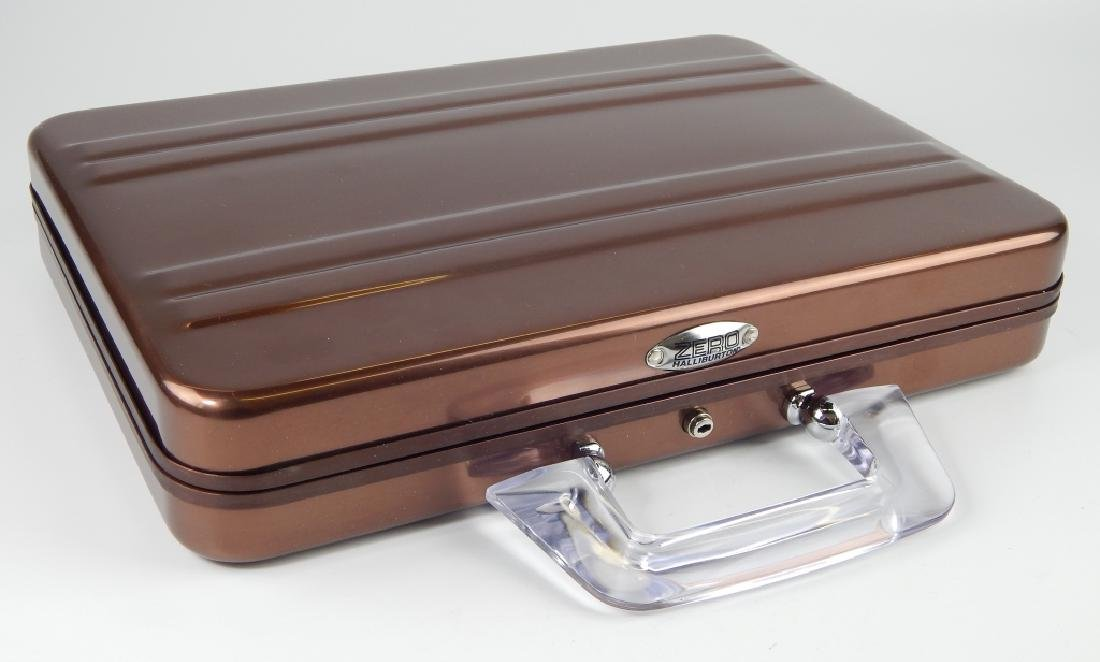 ZERO HALIBURTON ALUMINUM ATTACHE LAPTOP CASE