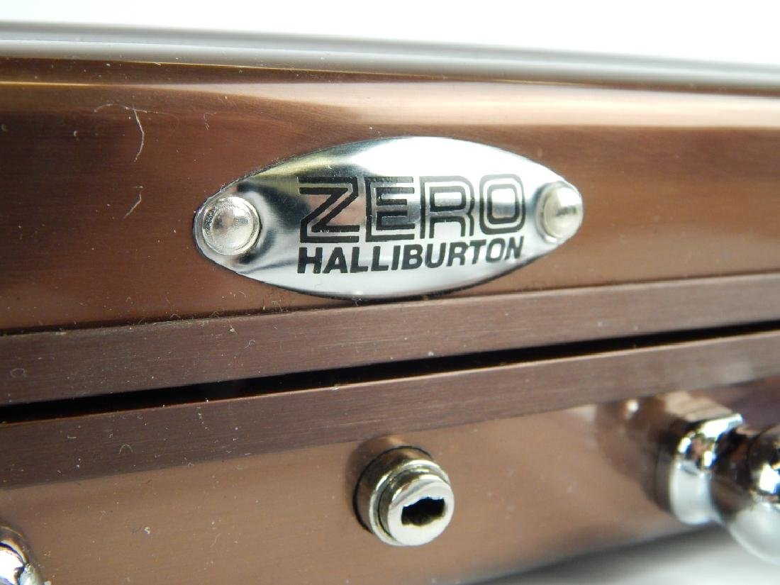 ZERO HALIBURTON ALUMINUM ATTACHE LAPTOP CASE - 2