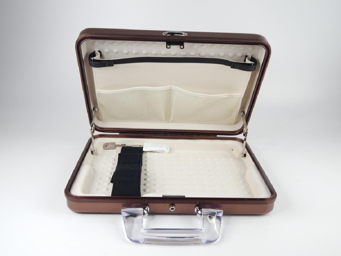 ZERO HALIBURTON ALUMINUM ATTACHE LAPTOP CASE - 3