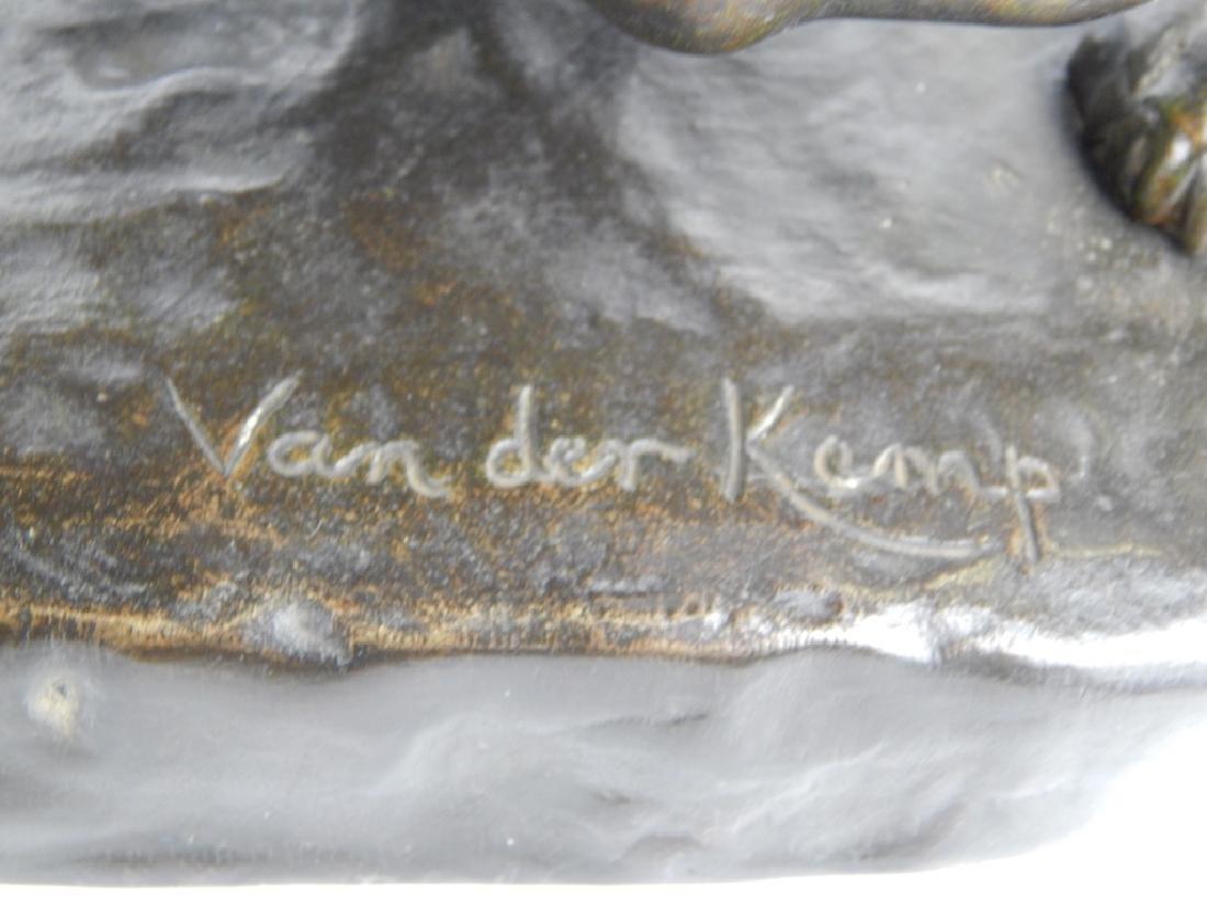 JOHN MAYNE VAN DER KEMP BRONZE PANTHER SCULPTURE - 3