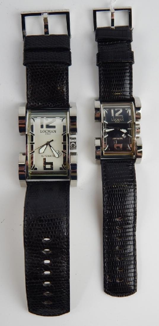 HIS & HERS LOCMAN LATIN LOVER AUTOMATIC WATCHES