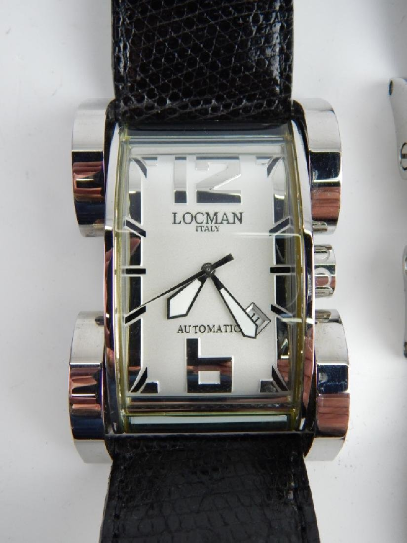 HIS & HERS LOCMAN LATIN LOVER AUTOMATIC WATCHES - 2