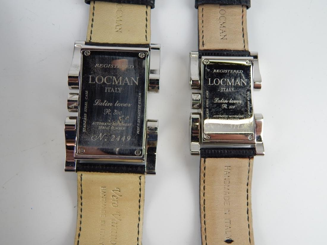 HIS & HERS LOCMAN LATIN LOVER AUTOMATIC WATCHES - 4