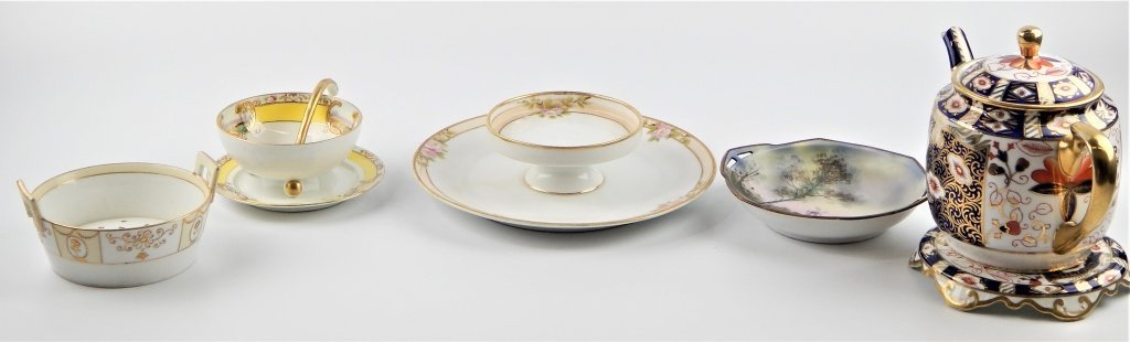 5 PIECE NORITAKE NIPPON PORCELAIN TABLEWARE ITEMS