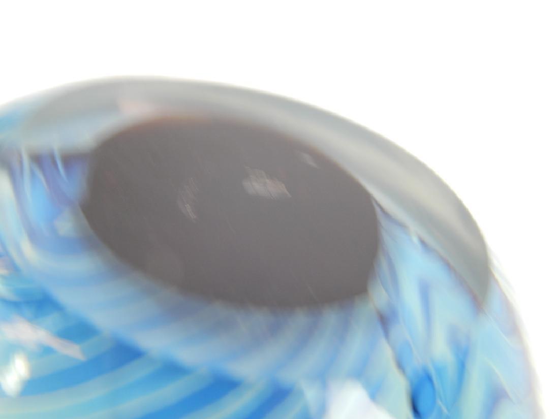 3 STUDIO ART GLASS PAPERWEIGHT SCULPTURES - 6