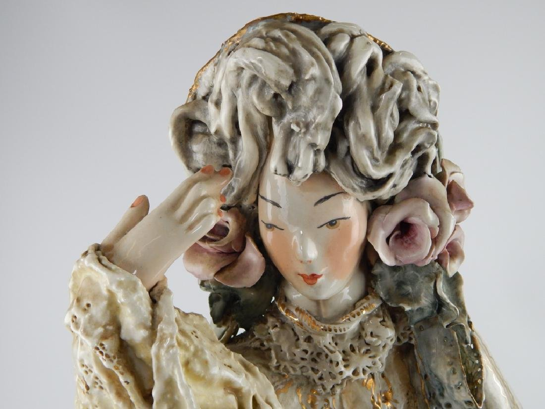 PAIR OF CORDEY CHINESE EMPEROR AND EMPRESS FIGURES - 6