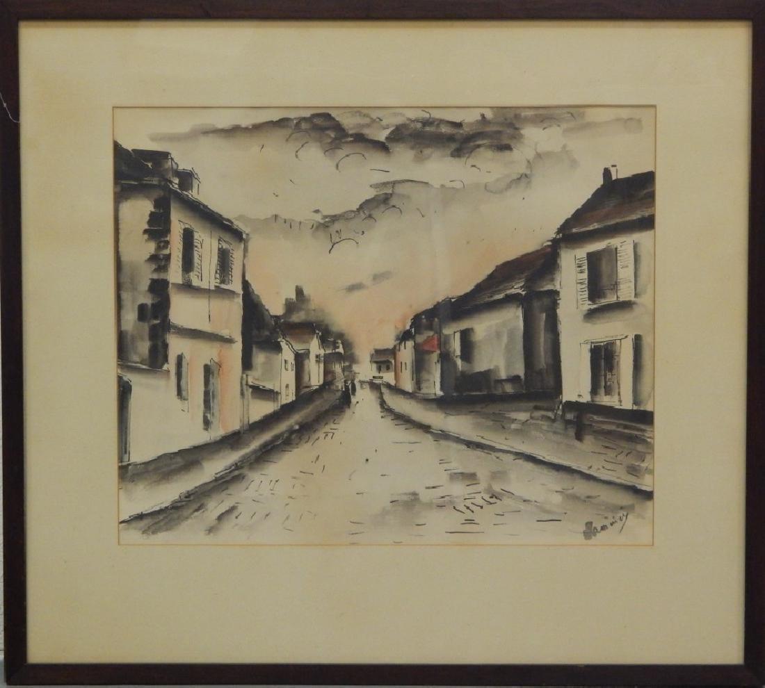MAURICE De VLAMINCK (FRENCH, 1876-1958) ORIGINAL