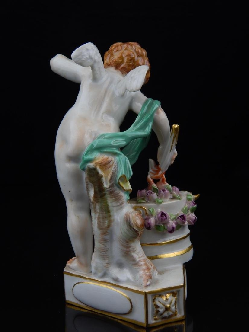 "ANTIQUE MEISSEN ""TELES ENFLAMME"" SCULPTURE - 4"