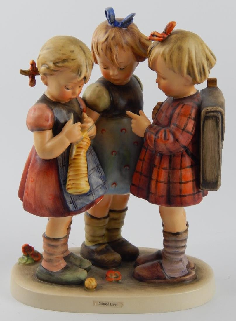 "HUMMEL ""SCHOOL GIRLS"" PORCELAIN FIGURE 177"