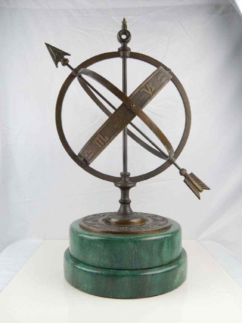 ASTROLOGICAL ARMILLARY BRONZE SPHERE - 2
