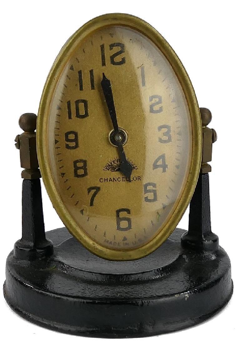 "1930's CHANCELLOR ""EVERBRITE"" DESK CLOCK"