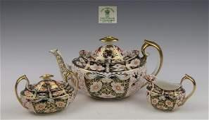 ROYAL CROWN DERBY IMARI TIFFANY TEA SET