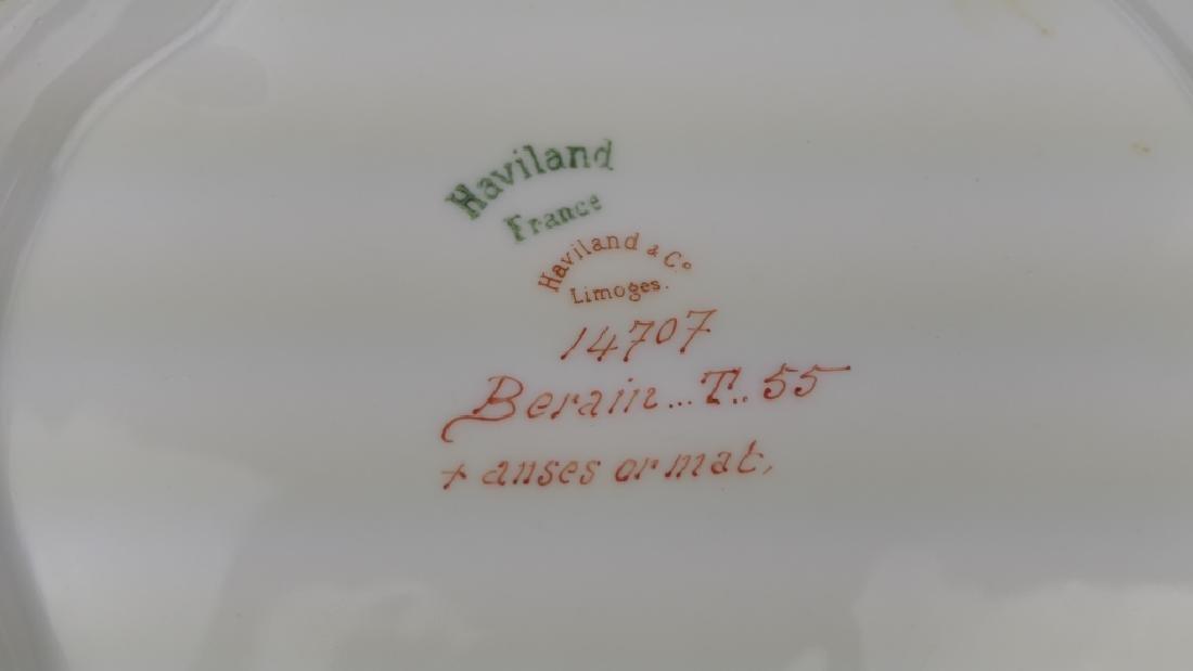 HAVILAND LIMOGES BERAIN ART NOUVEAU COV'D TUREEN - 9