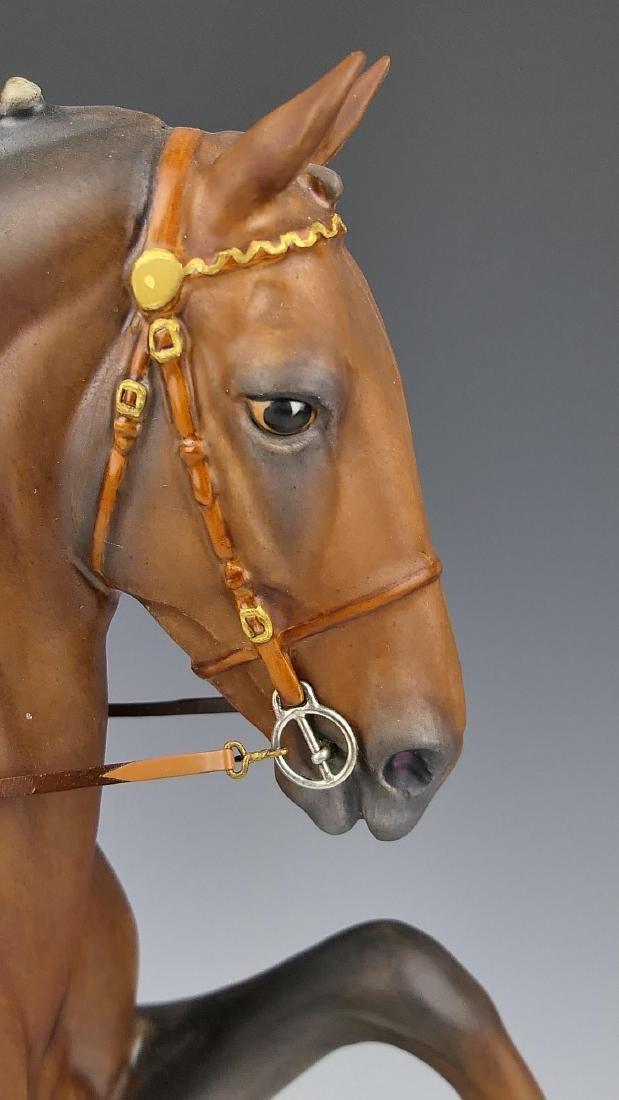 """ROYAL WORCESTER """"HACKNEY STALLION"""" HORSE FIGURE - 2"""