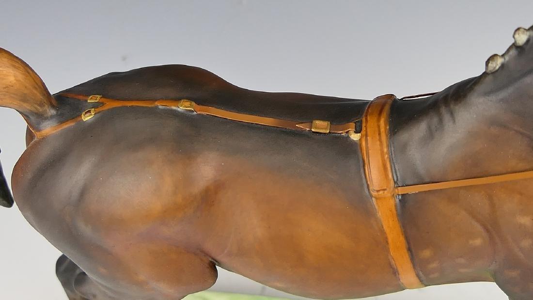 """ROYAL WORCESTER """"HACKNEY STALLION"""" HORSE FIGURE - 5"""