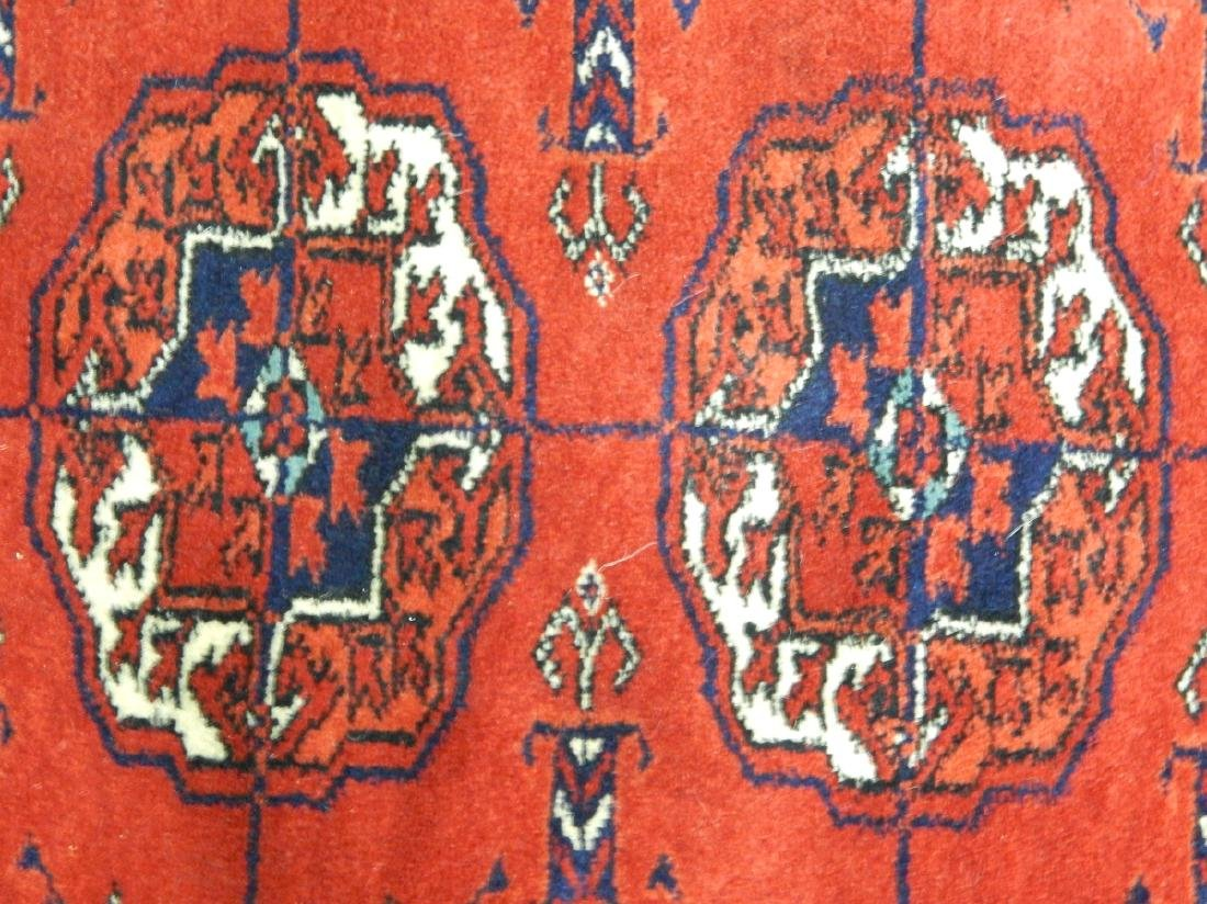 2x3' PERSIAN BOKHARA HAND KNOTTED RUG - 2