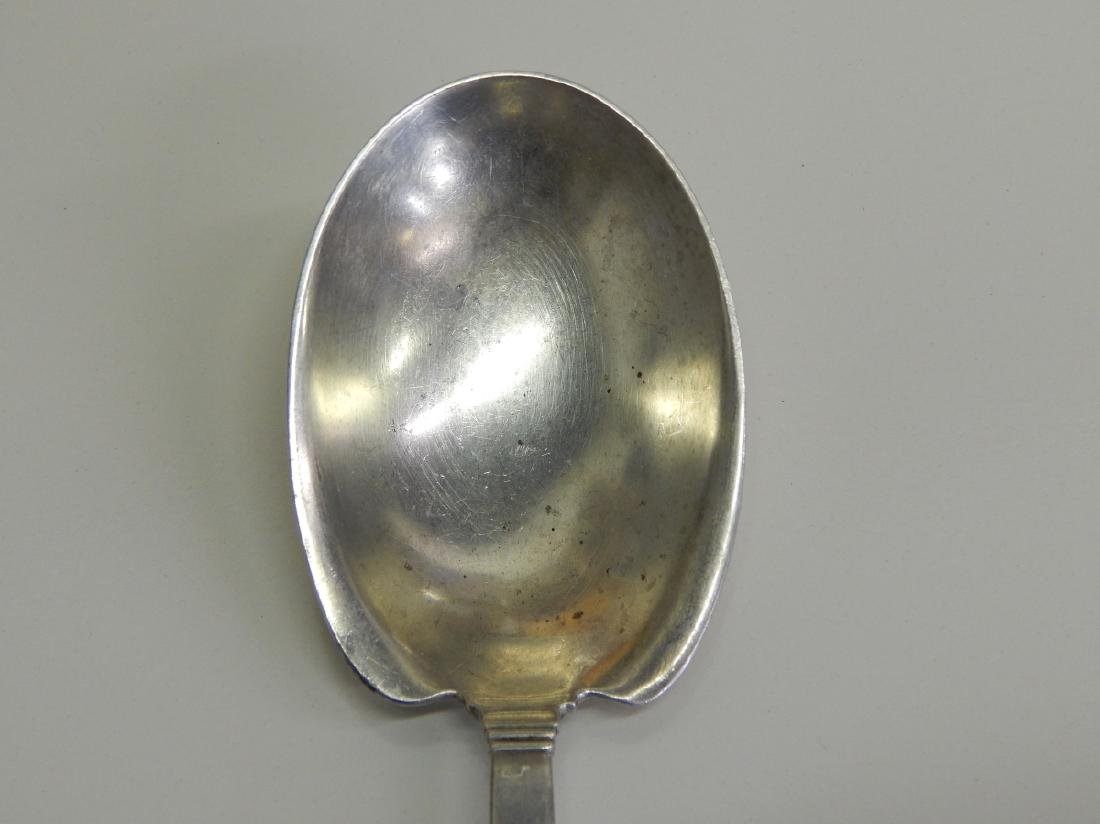 "TIFFANY & CO ""HAMPTON"" STERLING SERVING SPOON - 2"