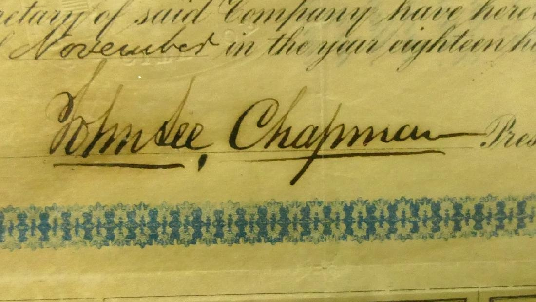 1867 $1000 W MARYLAND RAILROAD 2nd MORTGAGE BOND - 3