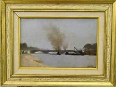 HENRI EVENEPOEL BELGIAN  FRANCE 18721899 OIL