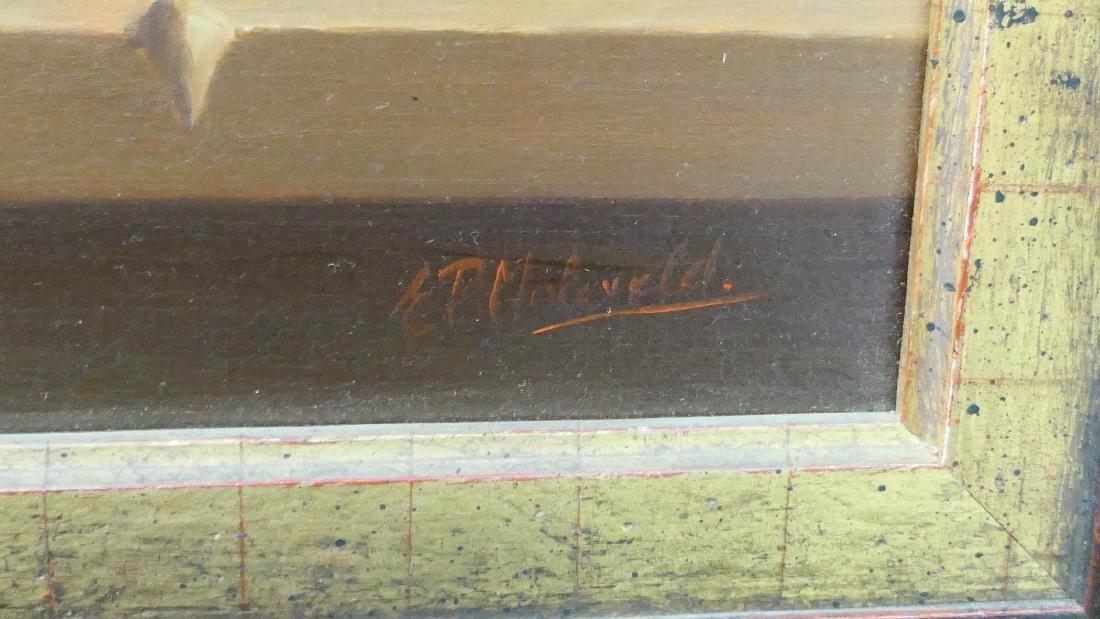 EDUARD MOLEVELD (DUTCH b1946) STILL LIFE OIL - 5
