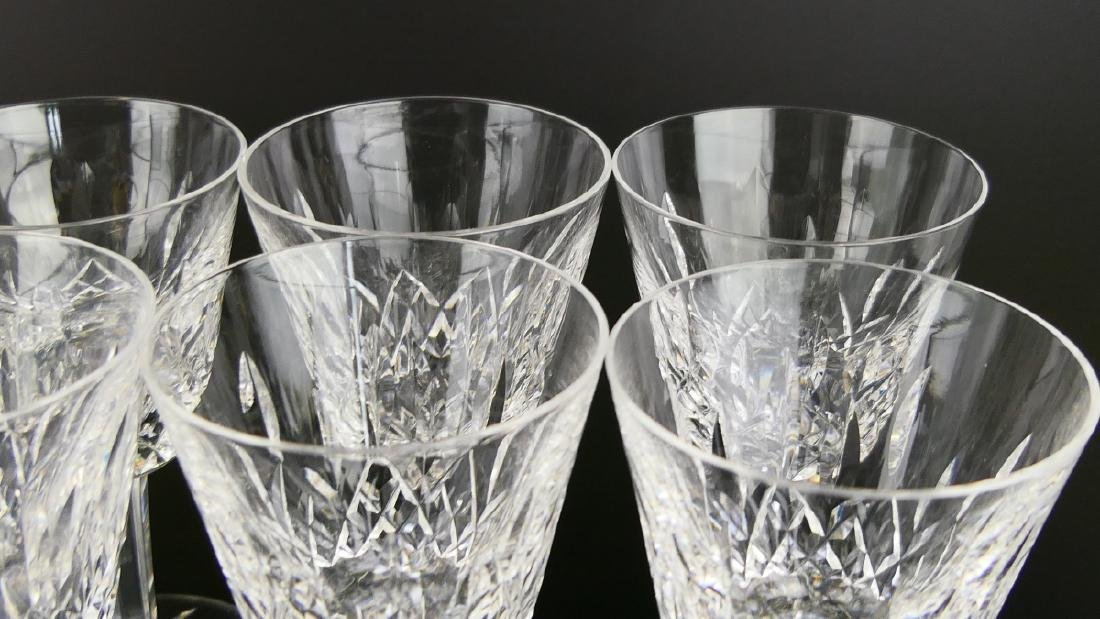 "11 WATERFORD ""LISMORE"" WINE GLASSES + 1 ""KENMARE"" - 4"