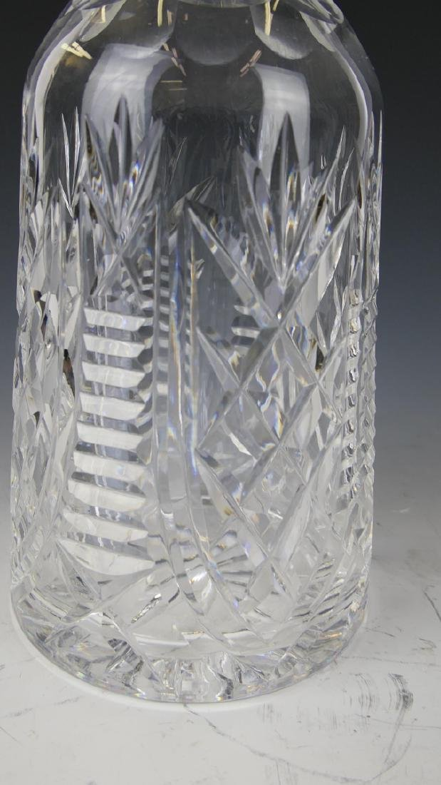 WATERFORD IRISH CUT CRYSTAL DECANTER WITH STOPPER - 2