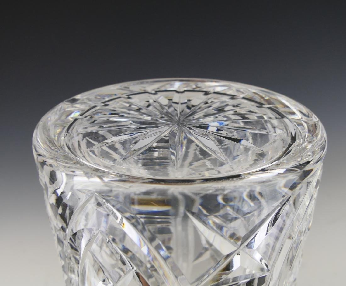 WATERFORD IRISH CUT CRYSTAL DECANTER WITH STOPPER - 4