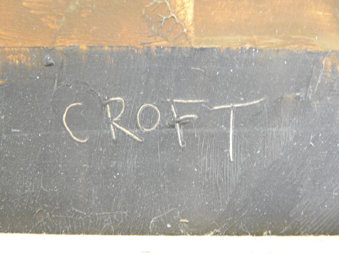 LEWIS CROFT (CANADA / USA 1911-1980) OIL ON BOARD - 2