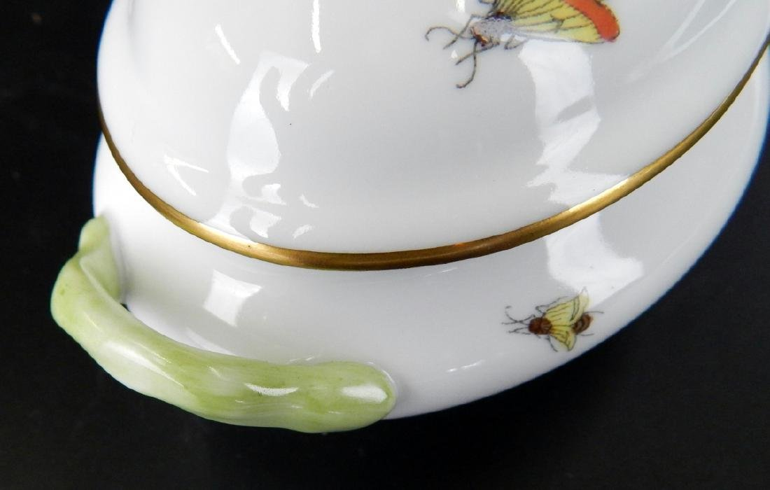 HEREND QUEEN VICTORIA COVERED PORCELAIN TUREEN - 6