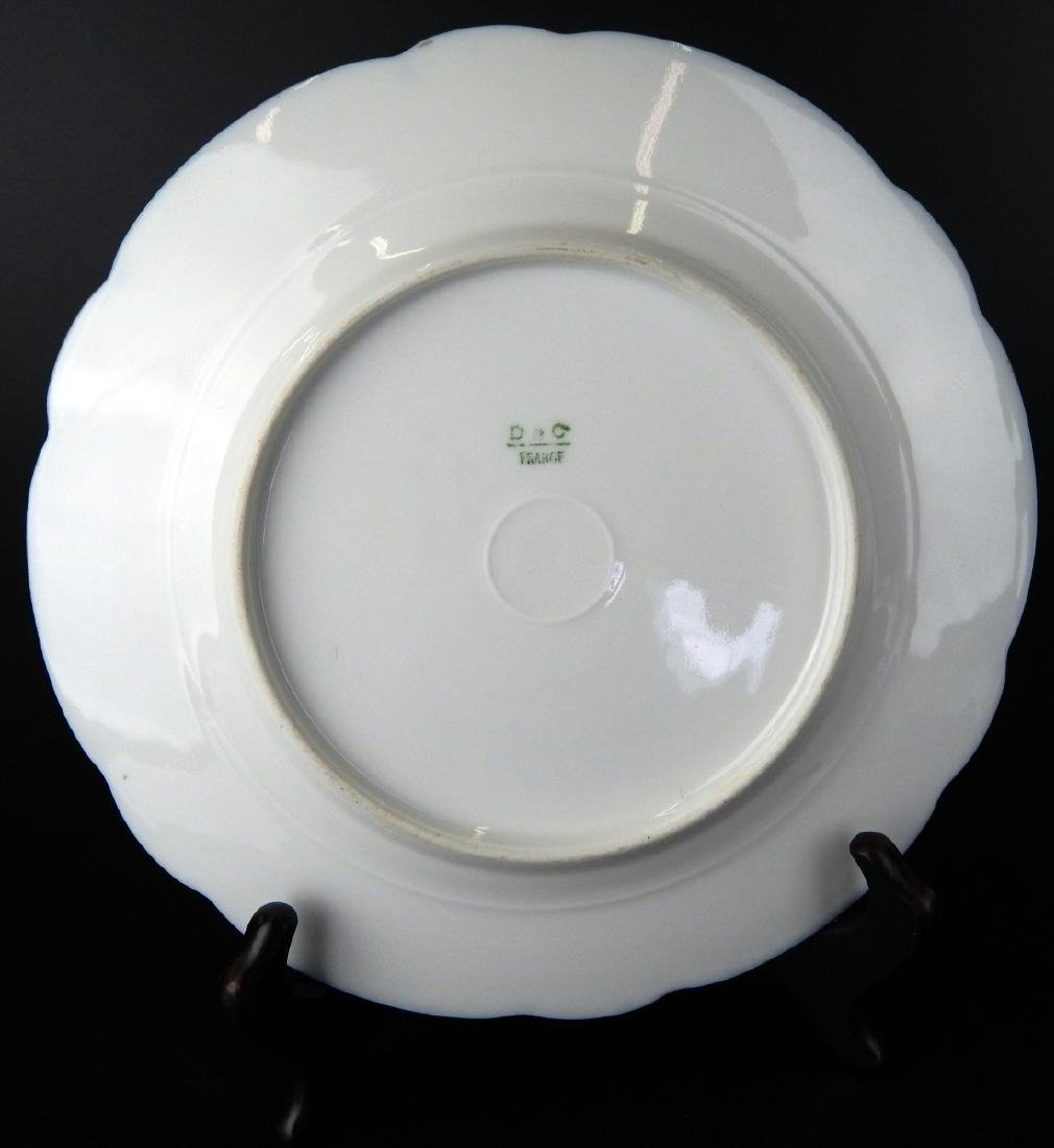LOVELY 19TH CENTURY HAND PAINTED LIMOGES PLATE - 5